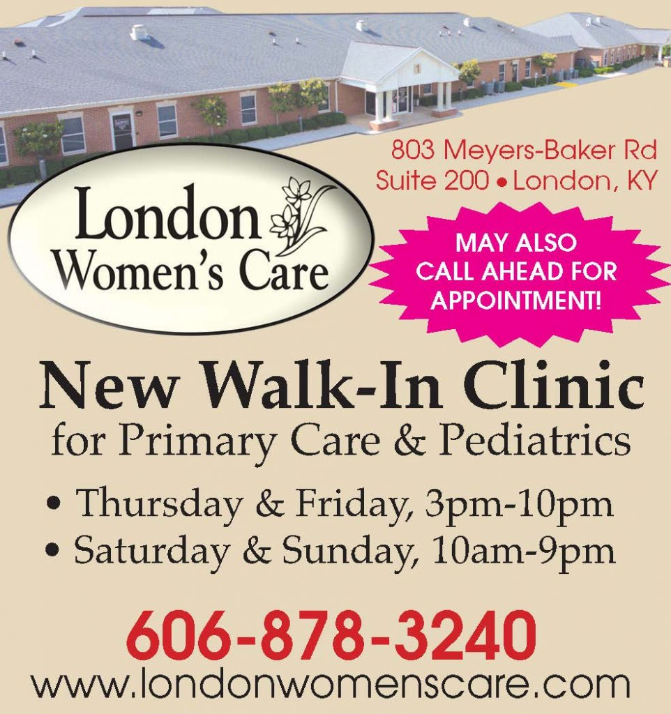 London Women's Care is now offering a new Walk-In Clinic for Primary Care & Pediatrics.