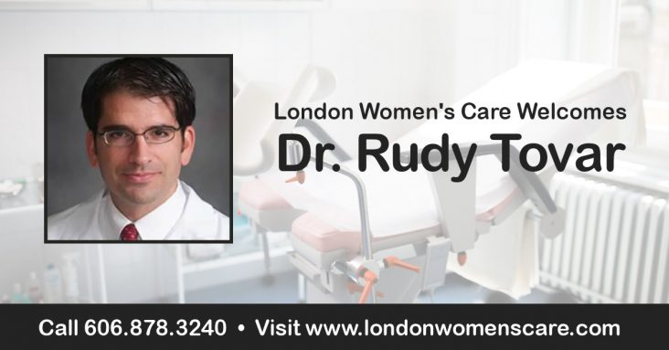 Welcome Dr. Rudy Tovar!